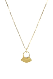 SOKO Pendant Brass Necklace - Product Mini Image