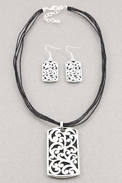 Lucky You Pendant Necklace/earring Set - Product List Image