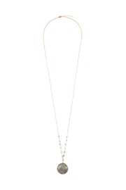 Riah Fashion Pendant Stone Longline-Necklace - Product Mini Image