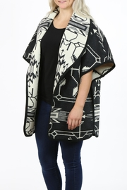 Pendleton Curve Cape - Front full body