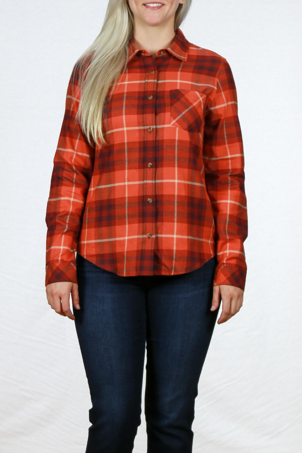 Pendleton Frankie Flannel Shirt - Front Cropped Image