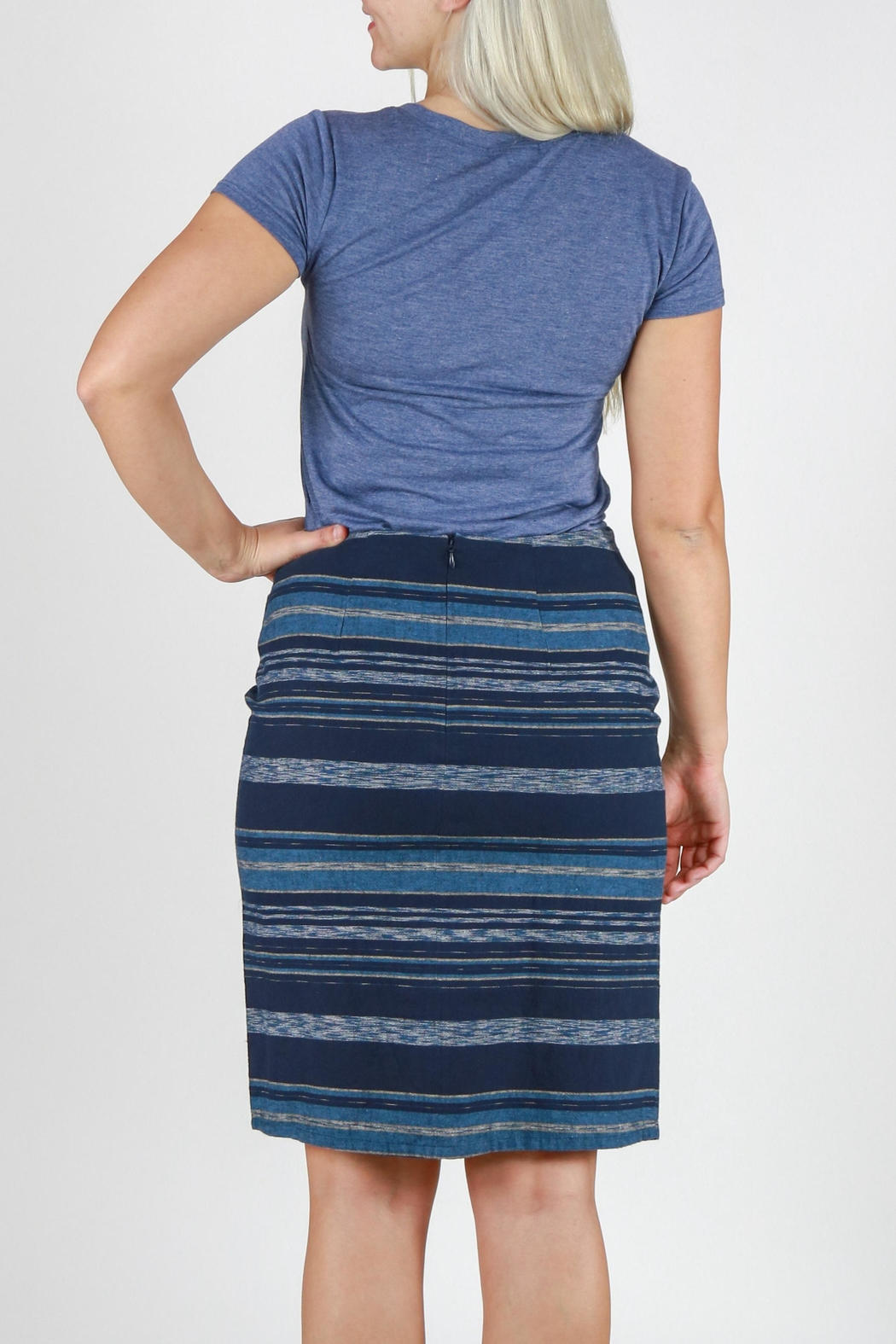 Pendleton River Crossover Skirt - Back Cropped Image