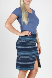 Pendleton River Crossover Skirt - Front full body