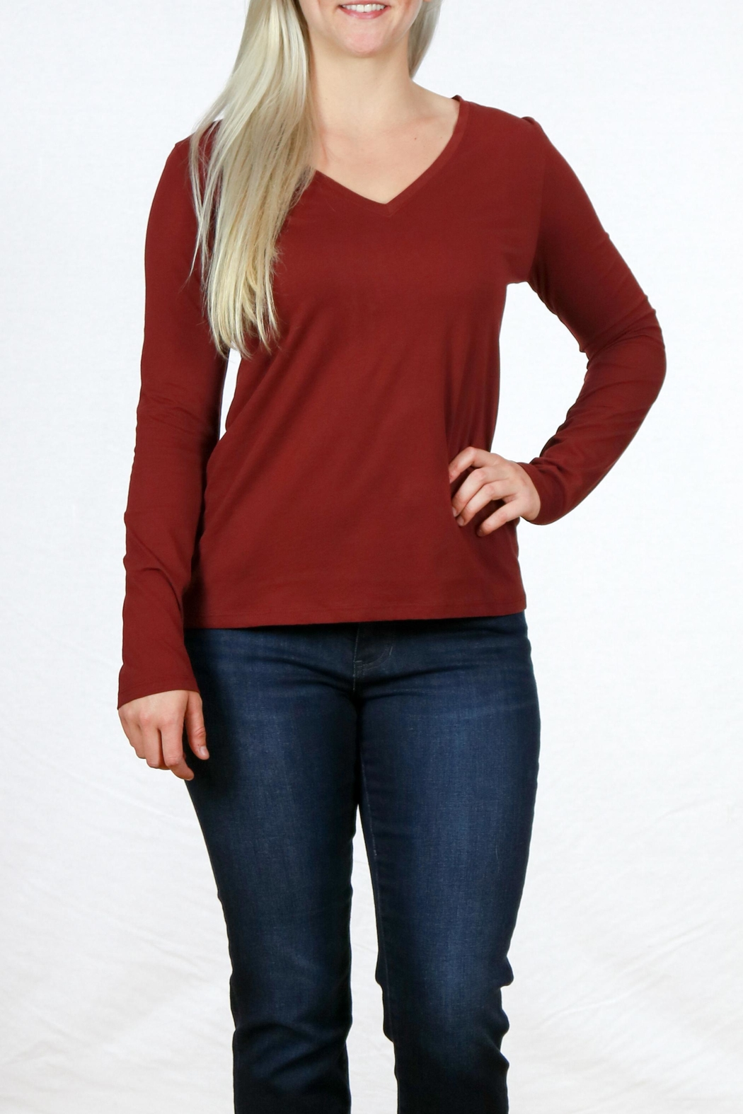 Pendleton Woolen Mills  Long Sleeve Tee - Front Cropped Image