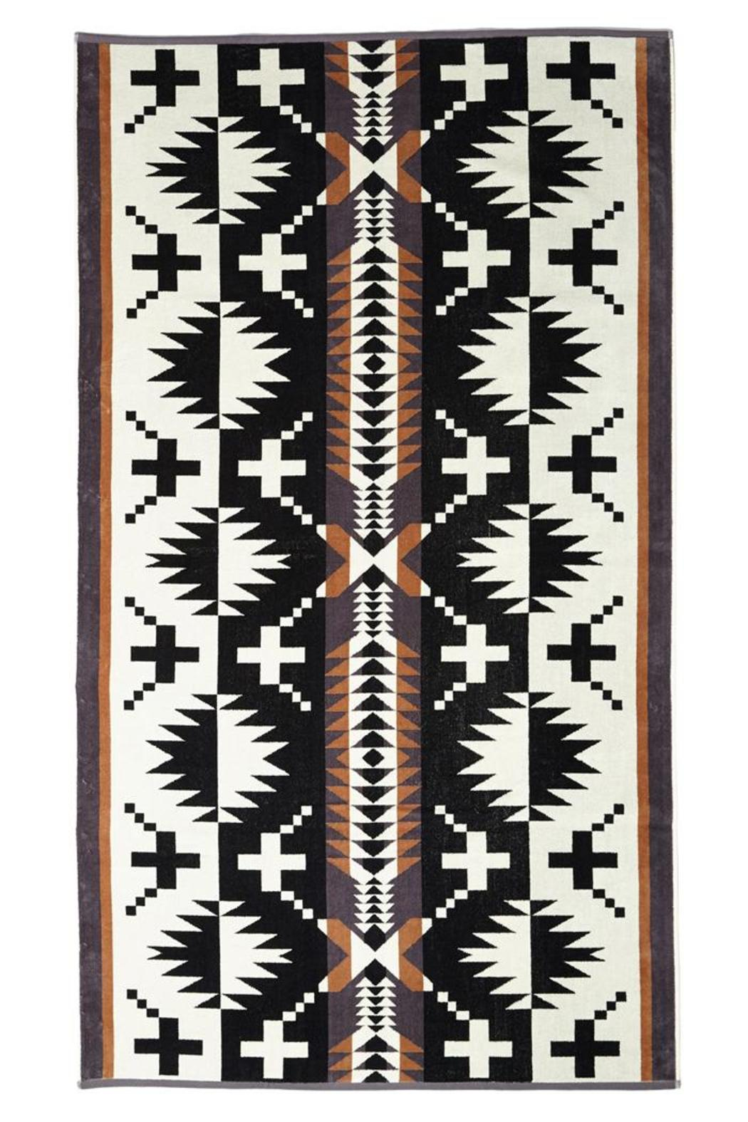 Pendleton Woolen Mills  Spa Beach Towel - Front Cropped Image