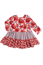 Pink Chicken Penelope Dress - Front cropped