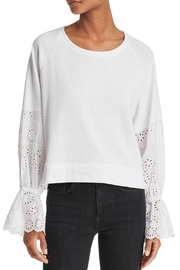 Generation Love  Penelope Eyelet-Sleeve Sweatshirt - Product Mini Image