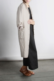 Mod Ref Penelope Linen Trench - Product Mini Image