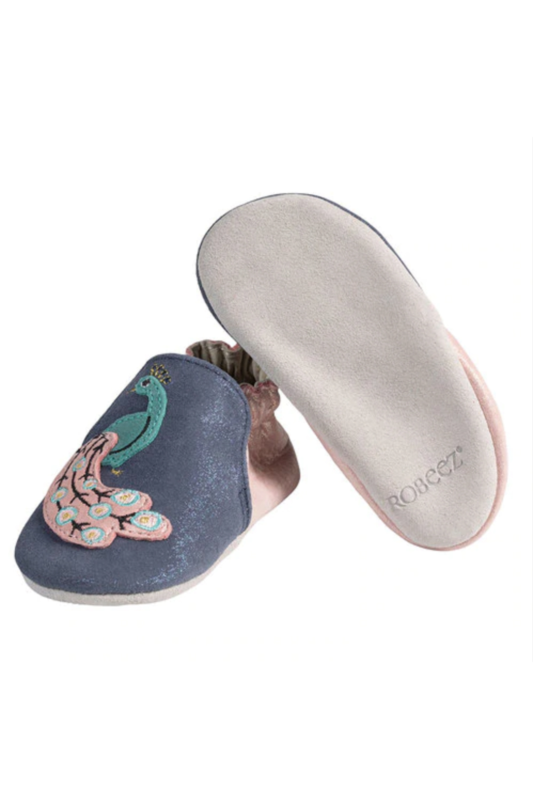 Robeez Penelope Peacock Soft Soles - Side Cropped Image