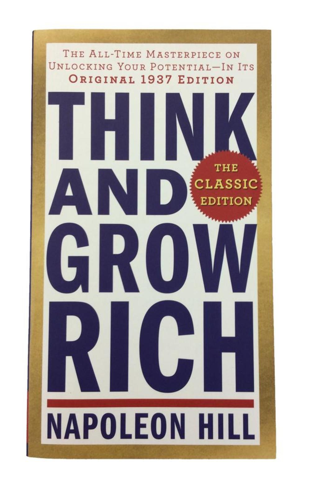 Penguin Think And Grow Book - Main Image