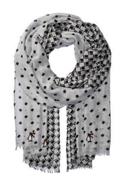 Vera Bradley Penguins Gray Scarf - Product Mini Image
