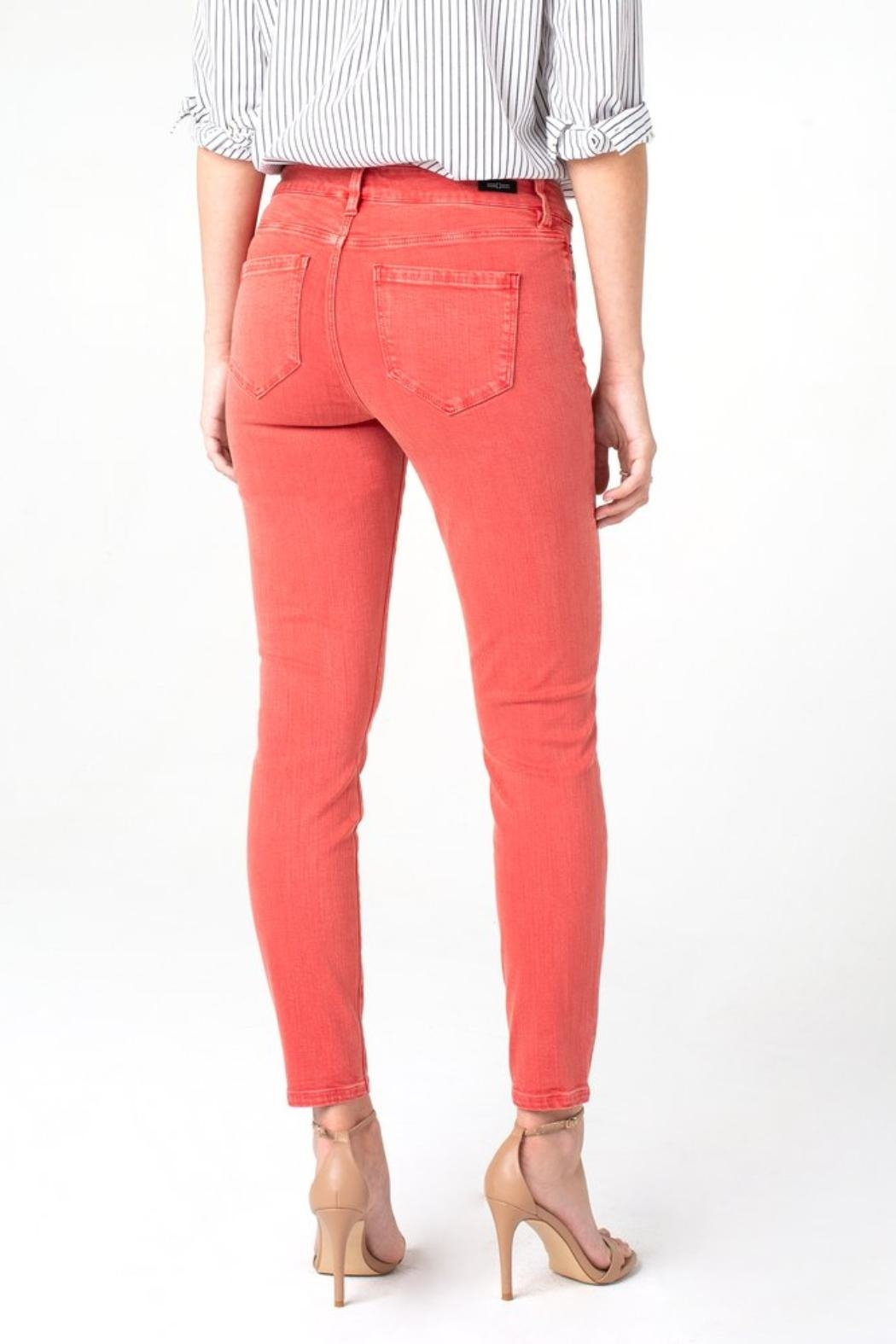 Liverpool Jean Company Penny Ankle Jeans - Side Cropped Image