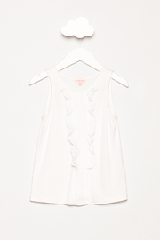 Penny Candy White Ruffle Tank - Product Mini Image