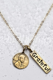Studio Penny Lane Penny Faith Necklace - Product Mini Image