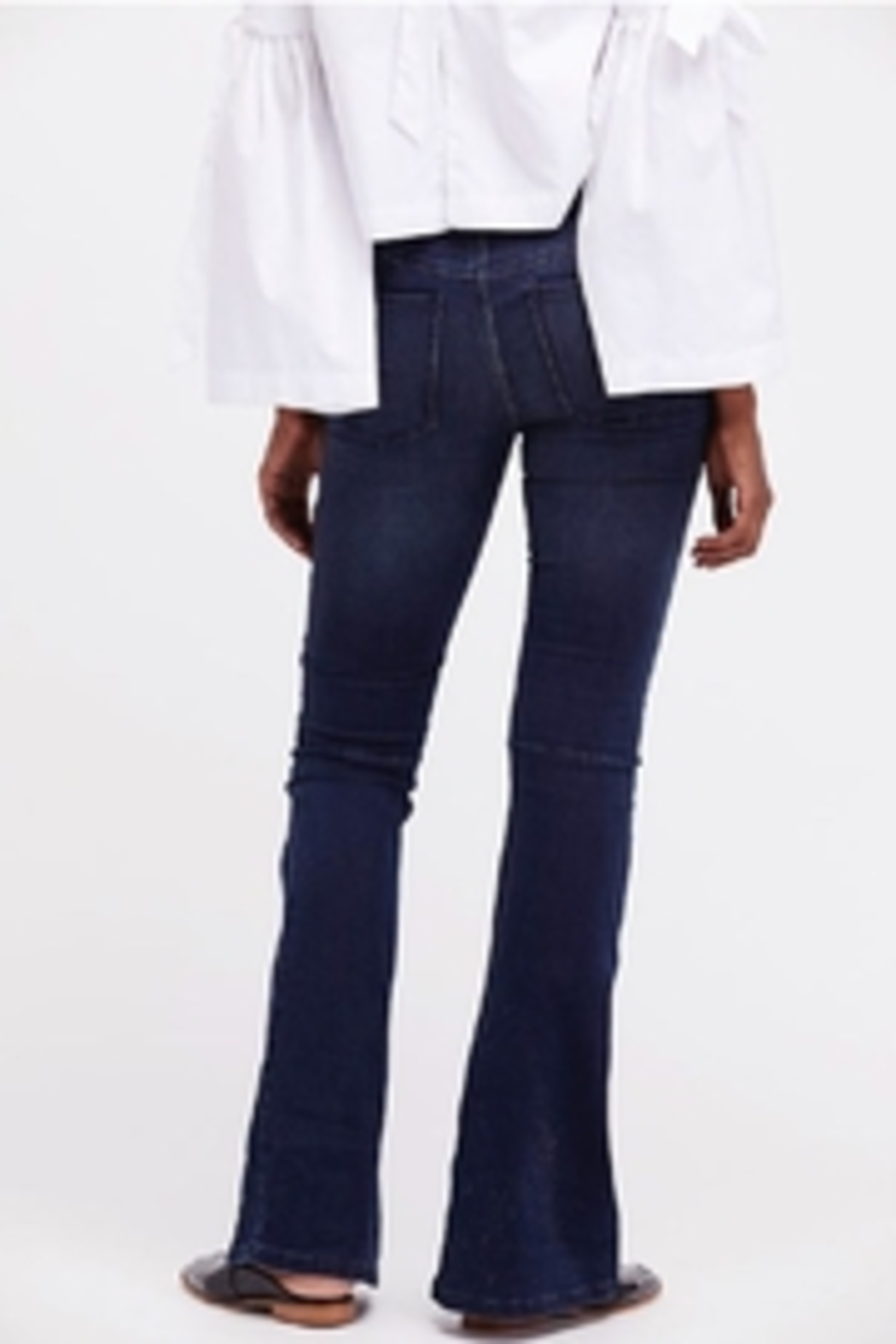 Free People Penny Flair Jeans - Back Cropped Image