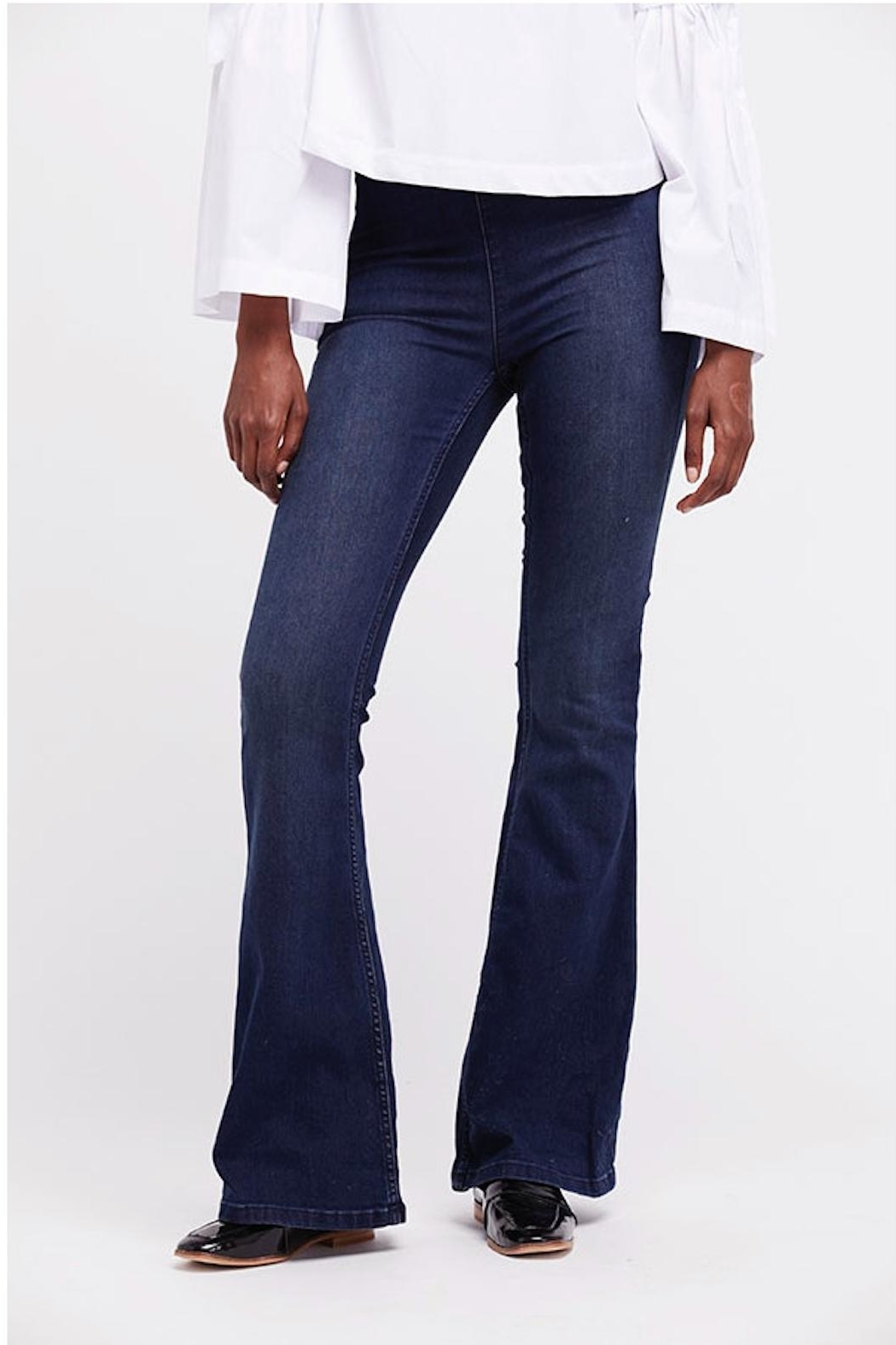 Free People Penny Flair Jeans - Front Full Image