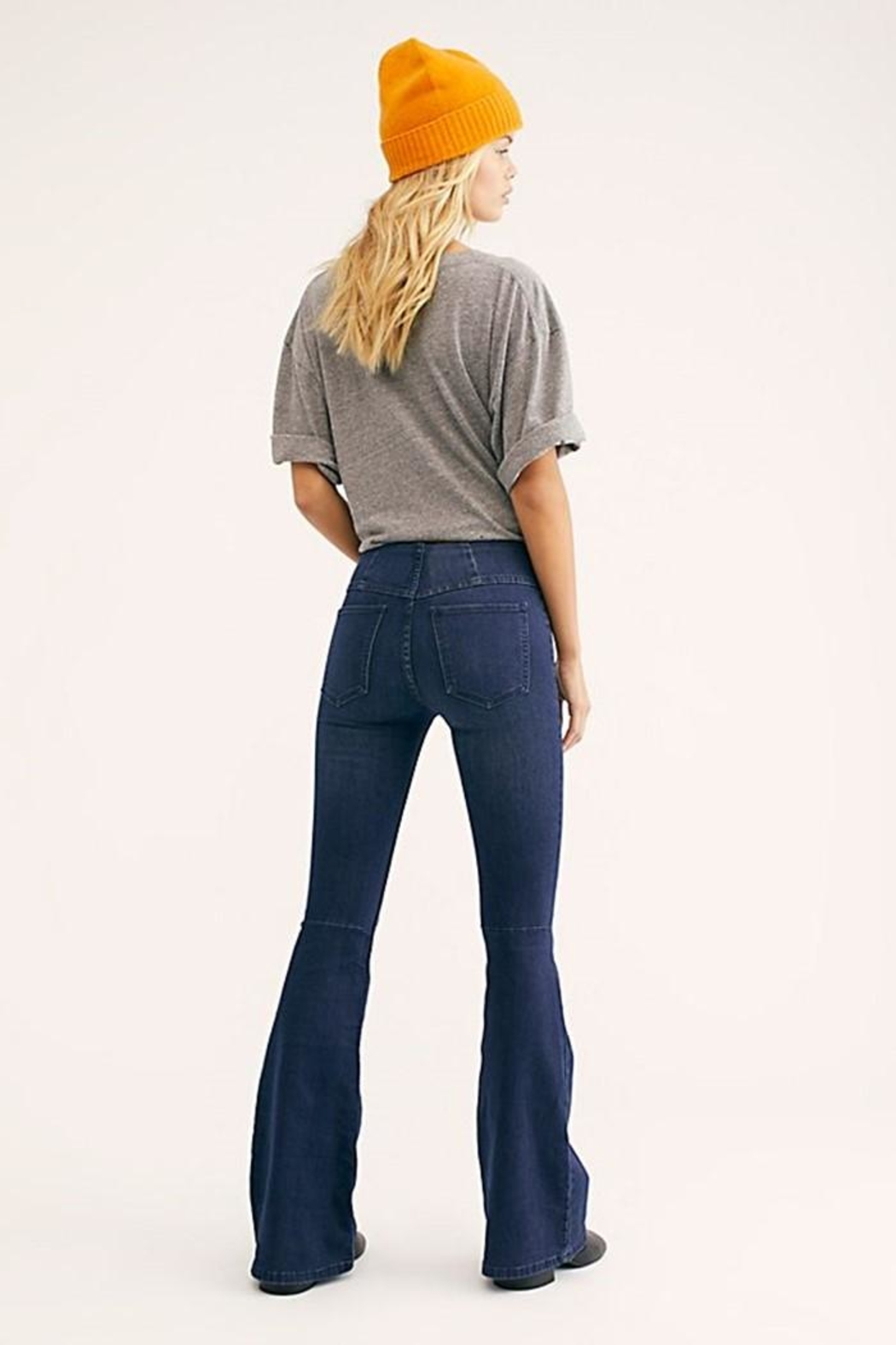 Free People Penny Pull-On Flare - Front Full Image