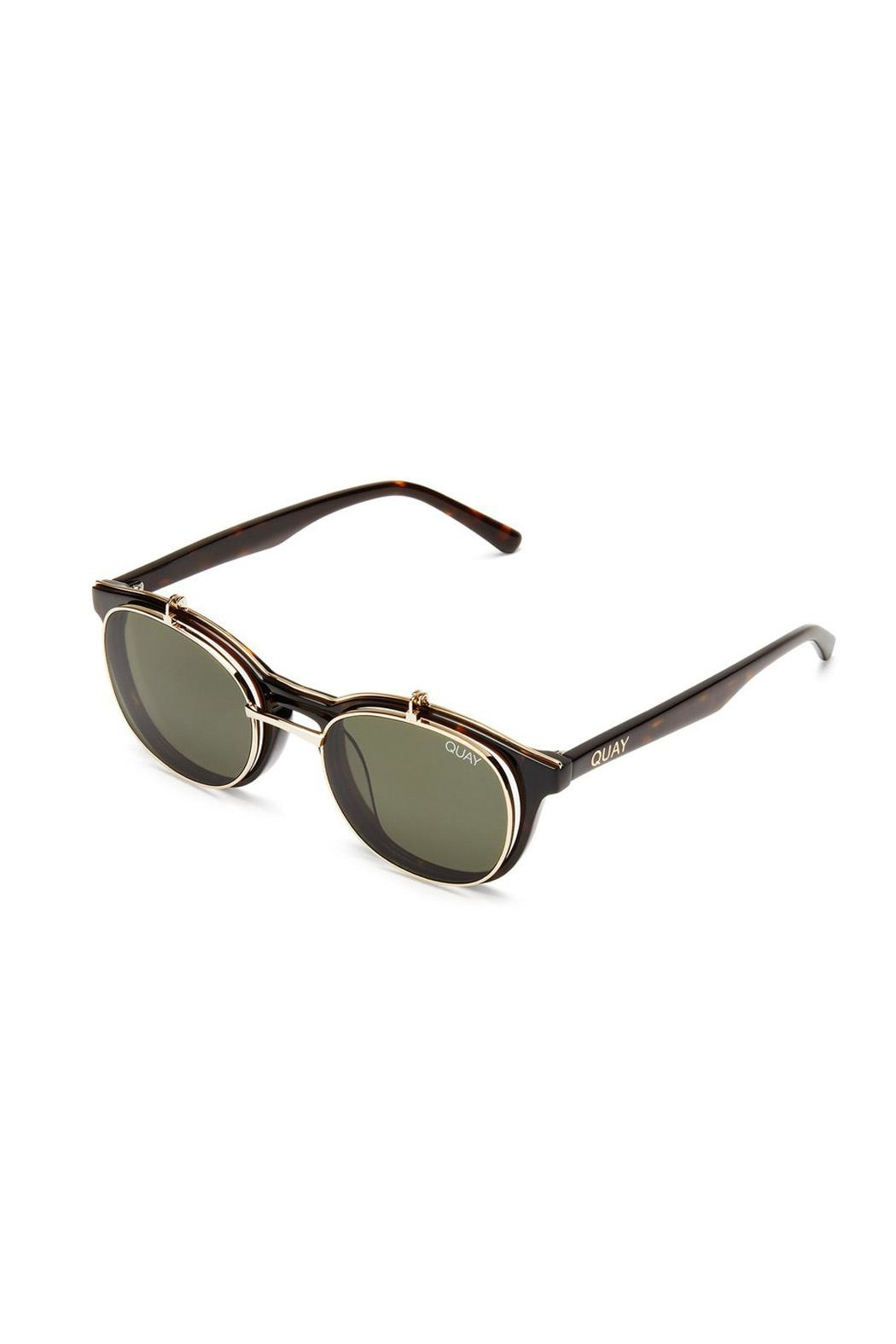Quay Australia Penny Royal Sunglasses - Back Cropped Image