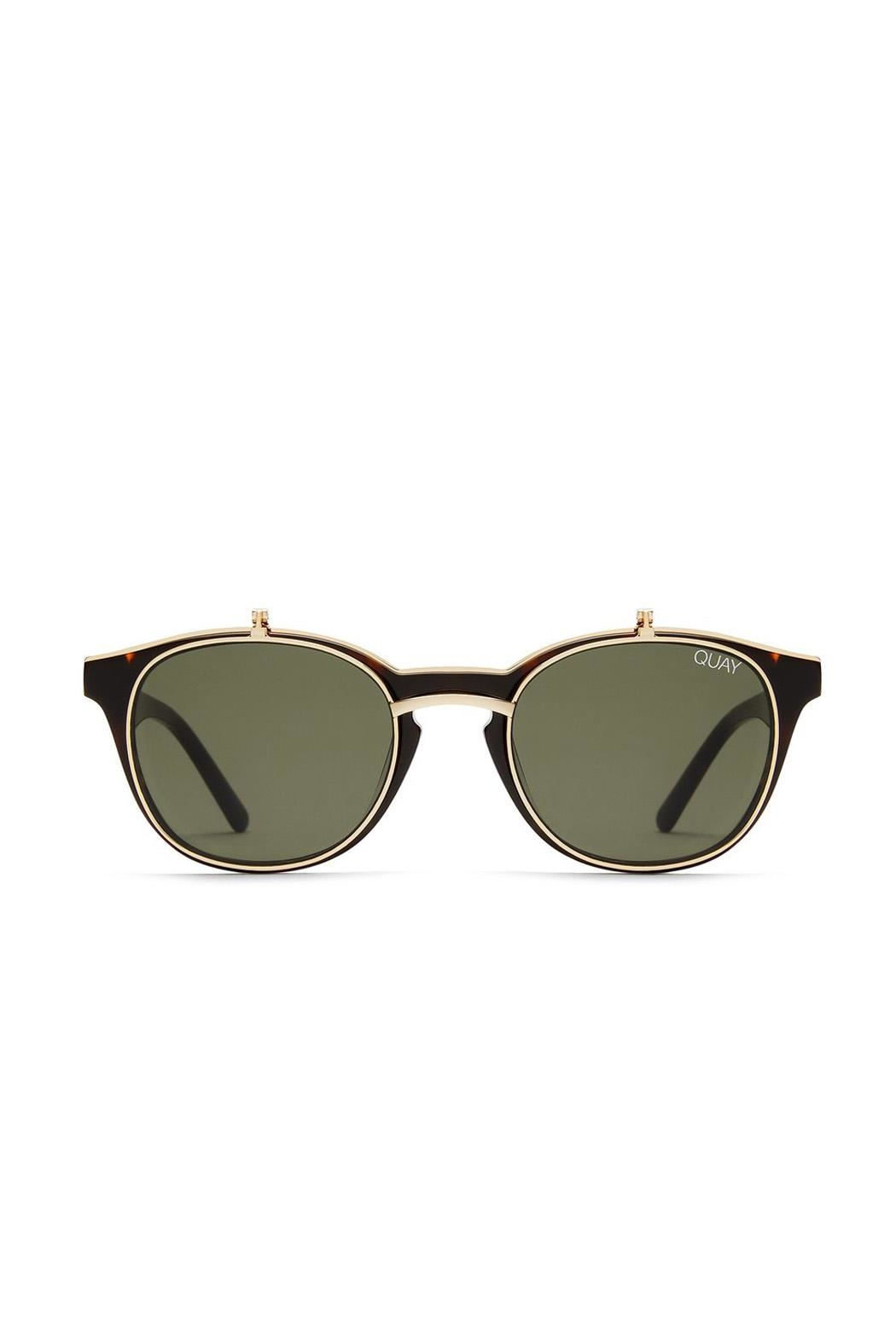 Quay Australia Penny Royal Sunglasses - Side Cropped Image