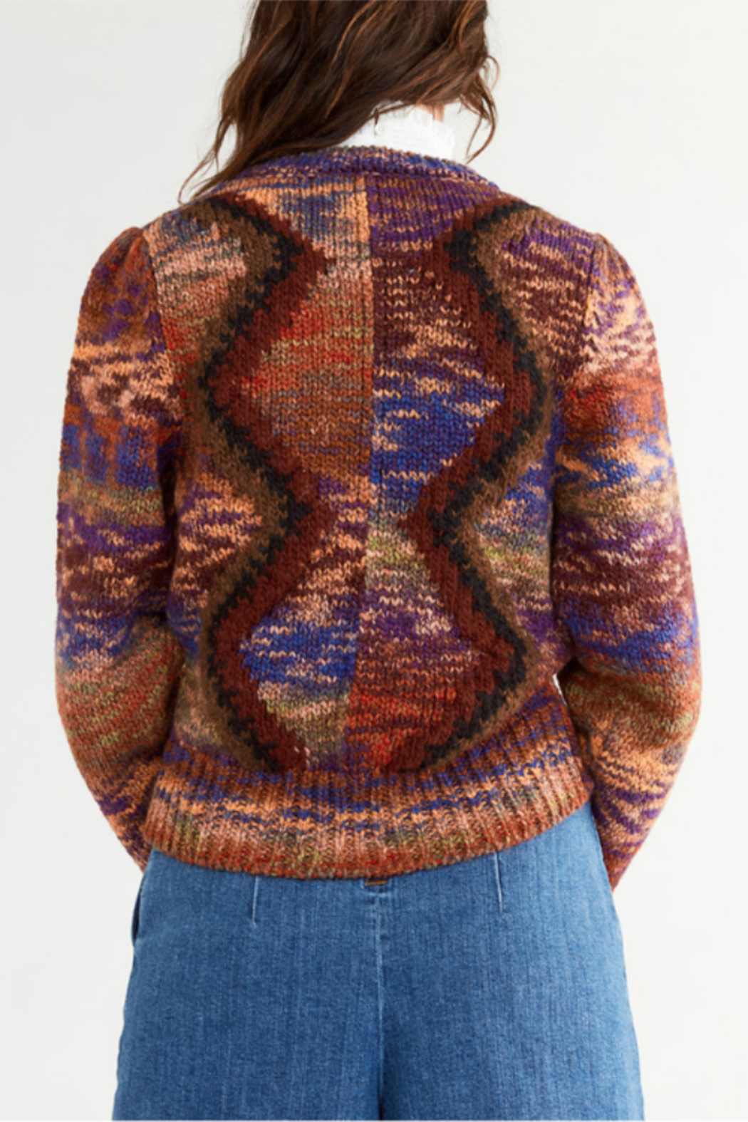 Vanessa Bruno Pensee Sweater - Back Cropped Image