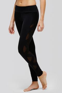 Peony Criss Cross Mesh Legging - Alternate List Image