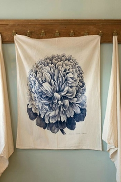 Hester & Cook Peony Dish Towel - Product List Image