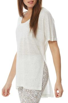 Peony High-Low Linen Tunic - Product List Image