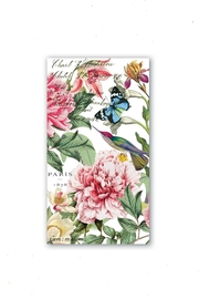 Michel Design Works Peony Hostess Napkins - Product Mini Image