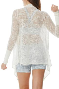 Peony Lace Cardigan - Alternate List Image