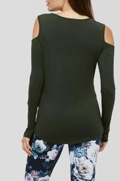 Peony Longsleeve Cut Out Top - Alternate List Image
