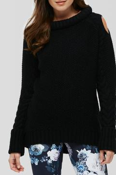 Peony Oversized Cableknit Sweater - Alternate List Image