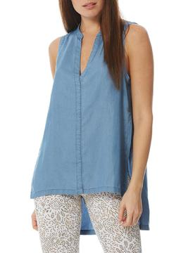 Shoptiques Product: Sleeveless Chambray Top
