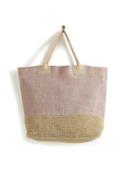 Mona B Peony Tote Bag - Front cropped