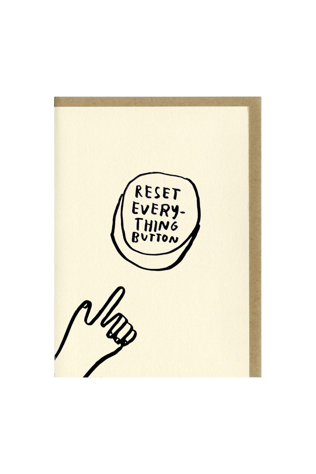 People I've Loved Reset Everything Button Greeting Card - Main Image