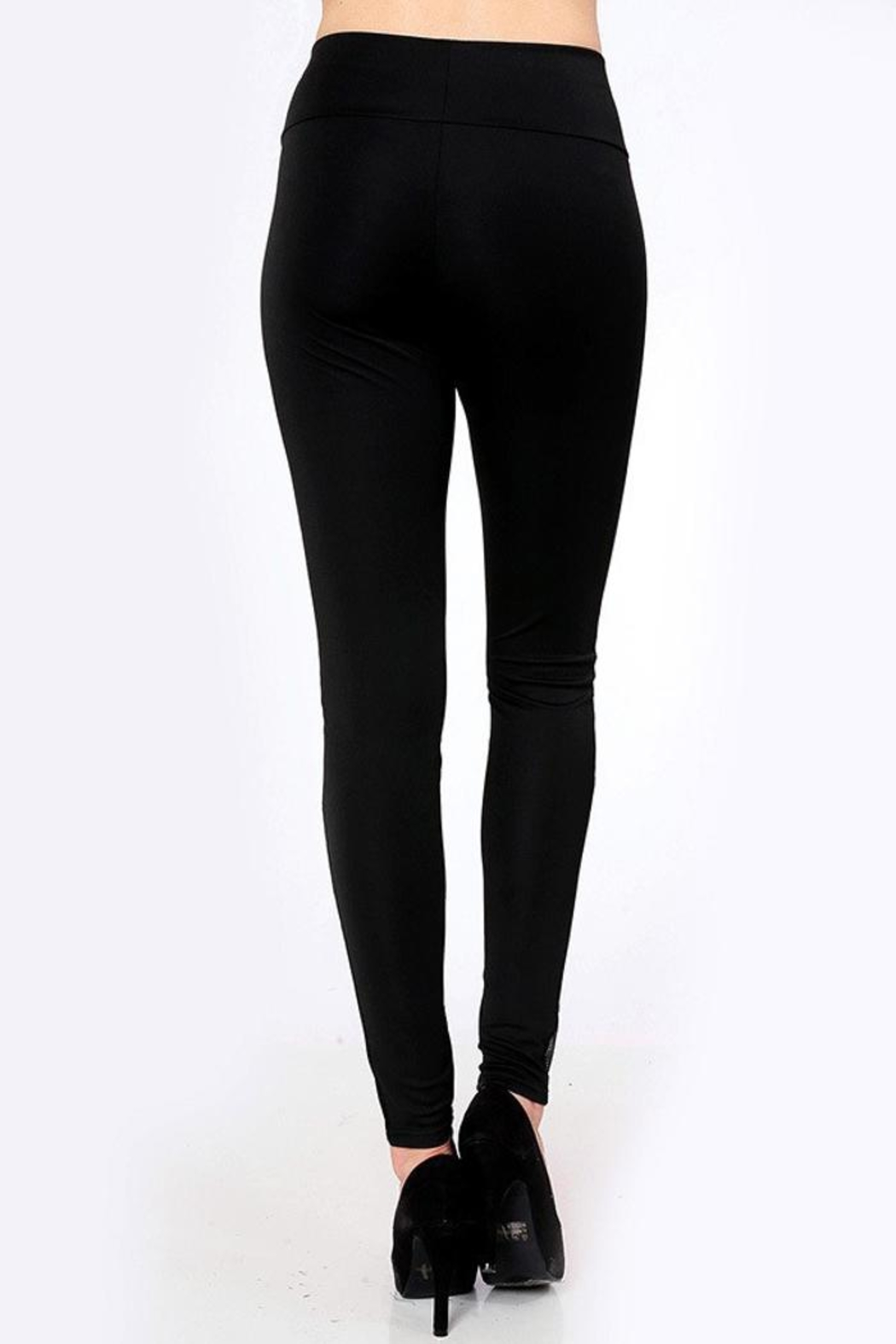 People Outfitter 80's Mesh Leggings - Side Cropped Image