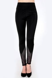 People Outfitter 80's Mesh Leggings - Back cropped