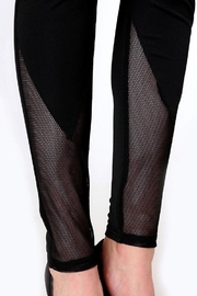 People Outfitter 80's Mesh Leggings - Front full body