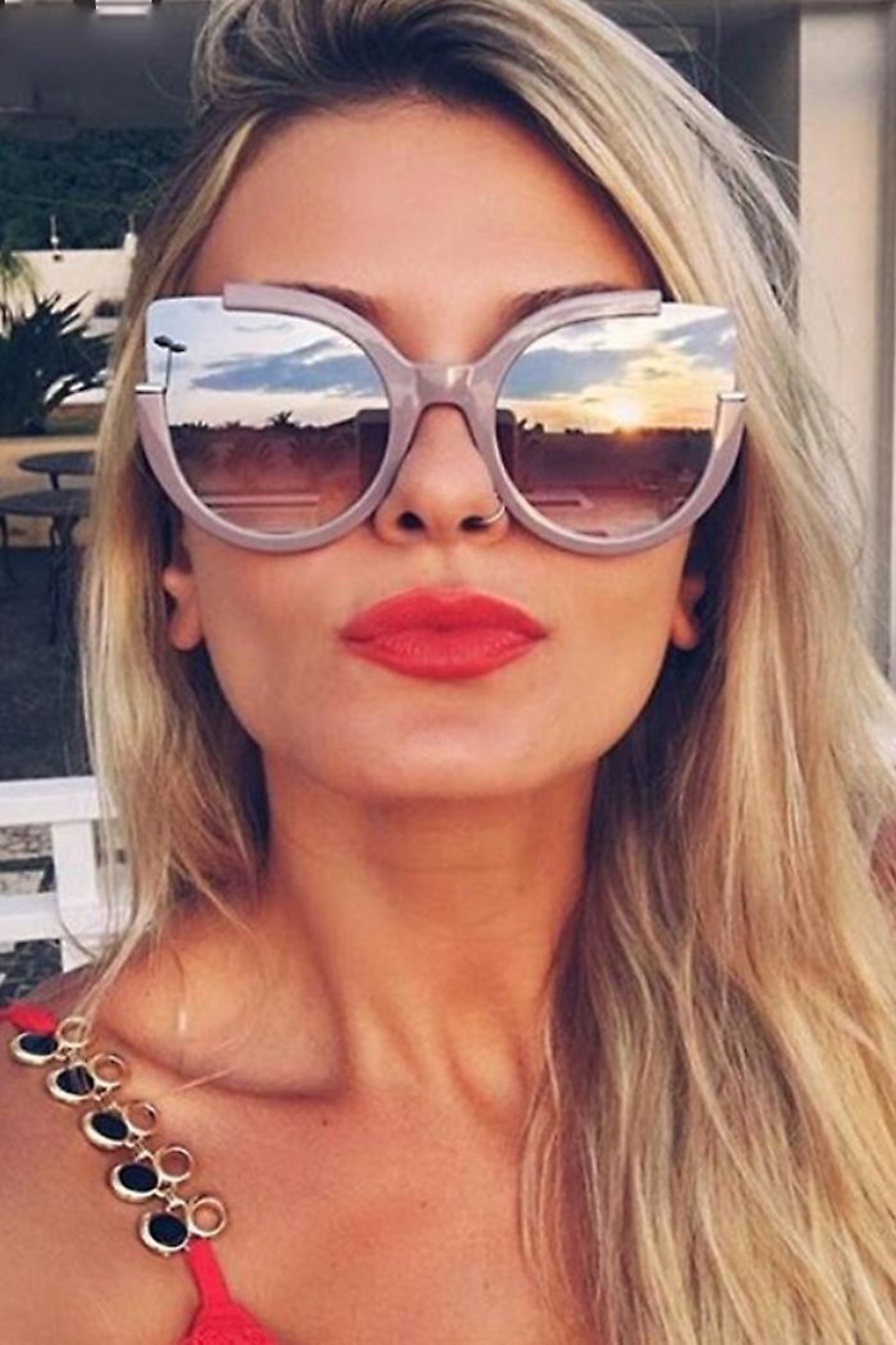 People Outfitter Abbey Cat Sunglasses-2 - Main Image