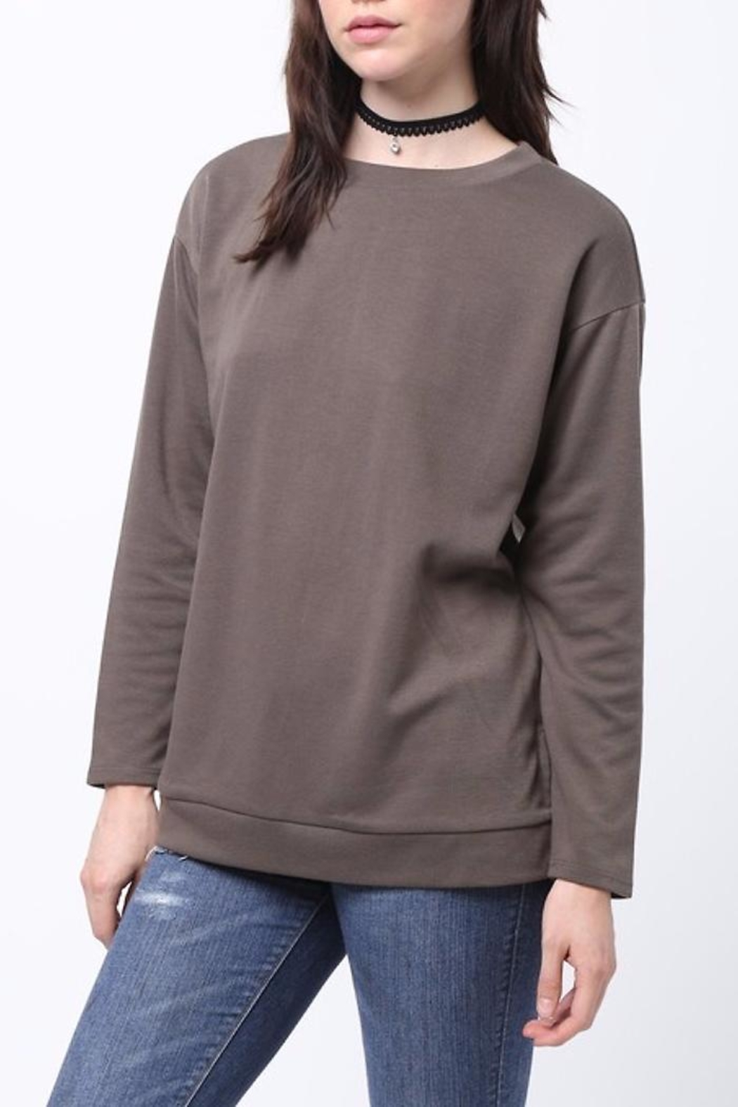People Outfitter Aednat Sweatshirt - Front Full Image