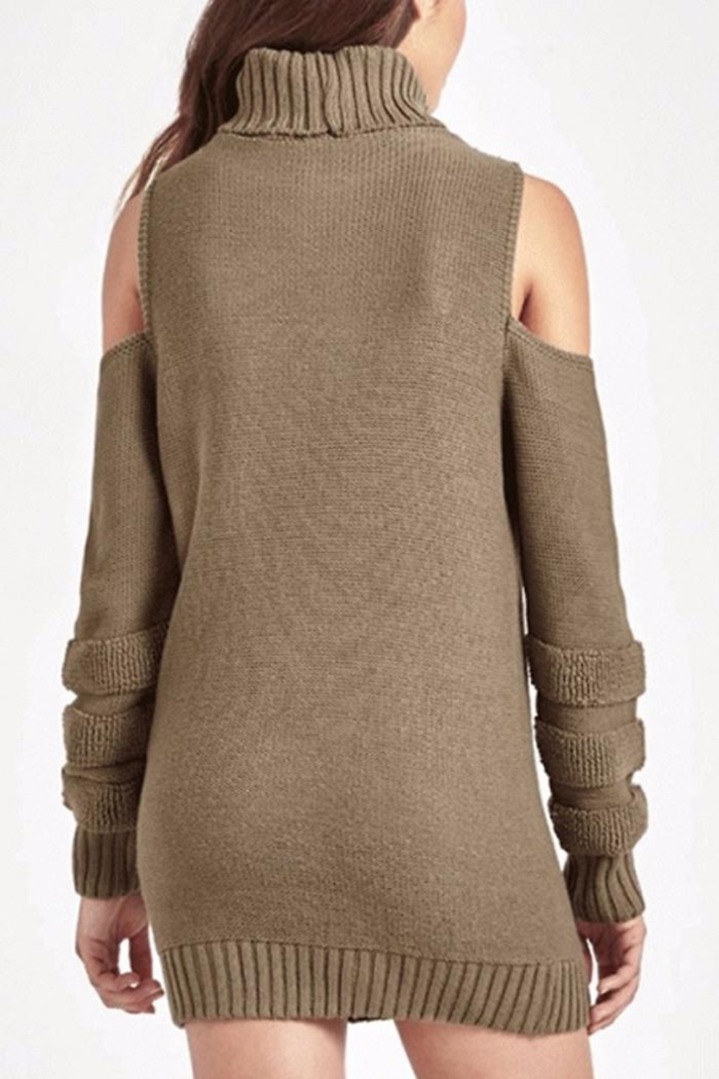 People Outfitter Ailis Tunic Sweater - Front Full Image
