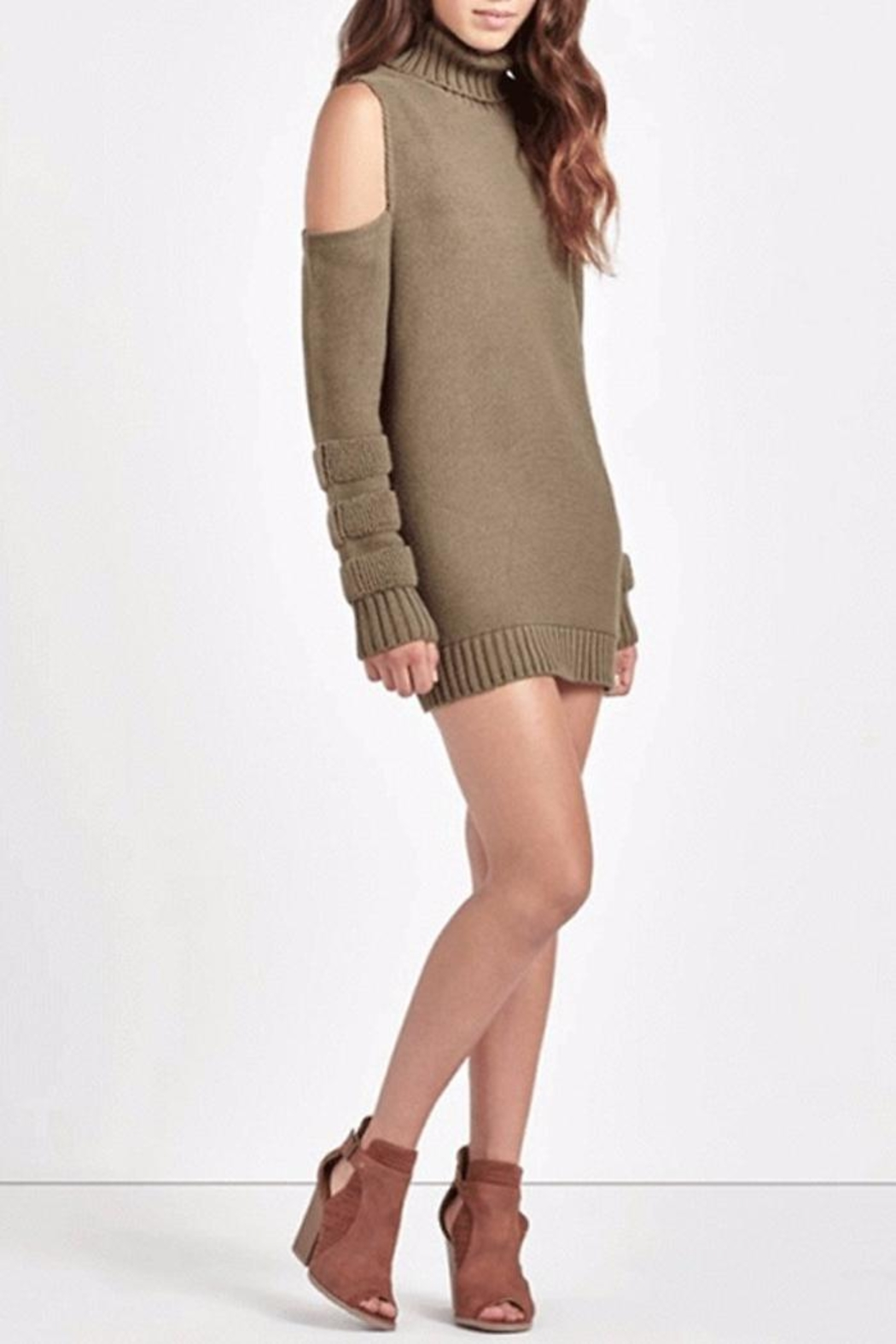 People Outfitter Ailis Tunic Sweater - Main Image