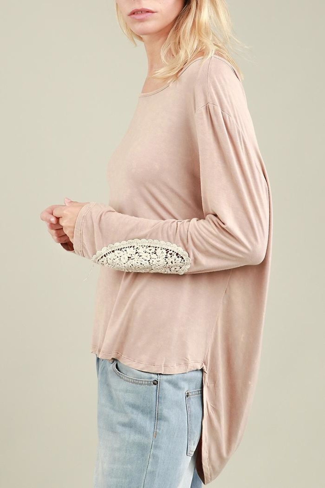 People Outfitter Alice Vintage Top - Side Cropped Image