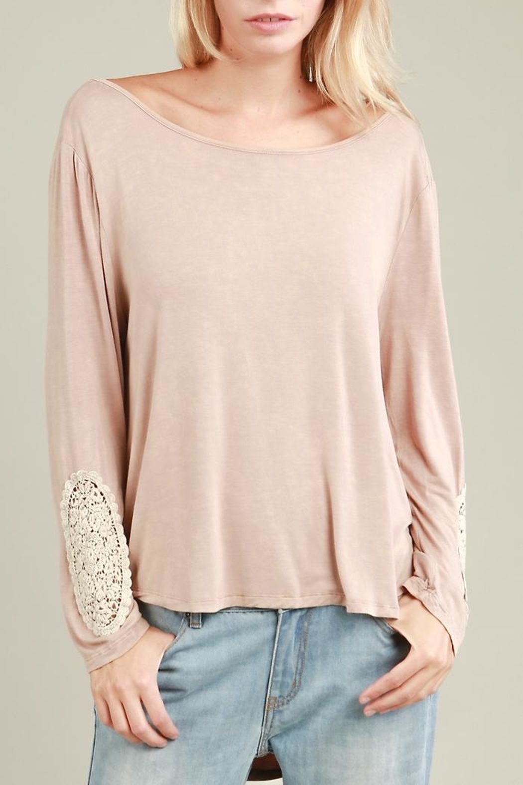 People Outfitter Alice Vintage Top - Front Full Image