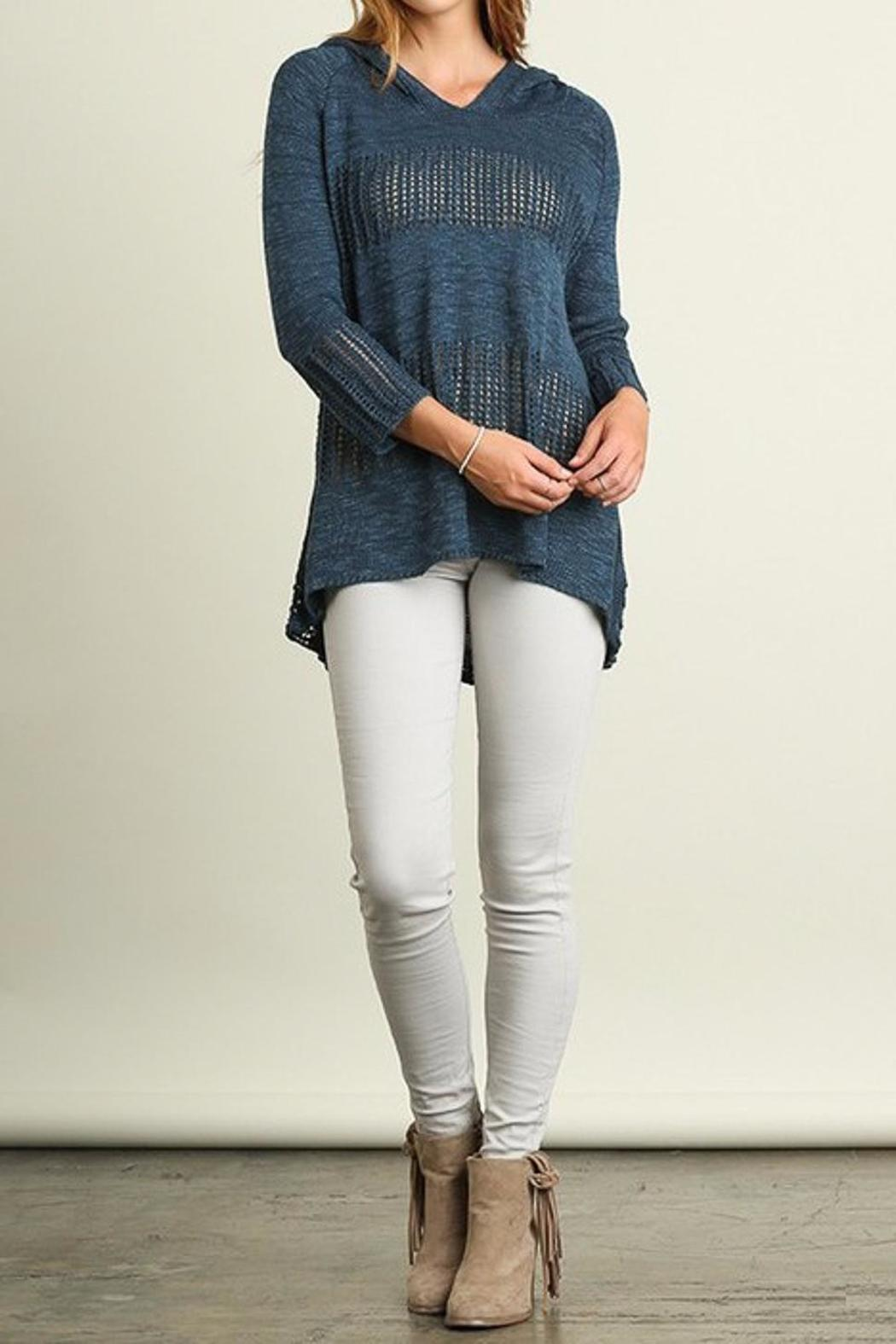 People Outfitter Anna Sweater - Back Cropped Image