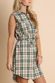 People Outfitter Anytime Plaid Dress - Side cropped