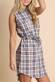 People Outfitter Anytime Plaid Dress - Product Mini Image