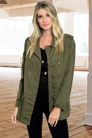 People Outfitter Army Trend Jacket - Product Mini Image