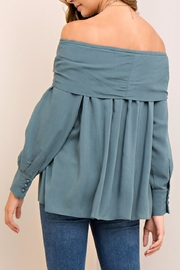 People Outfitter Astor Sea Top - Back cropped
