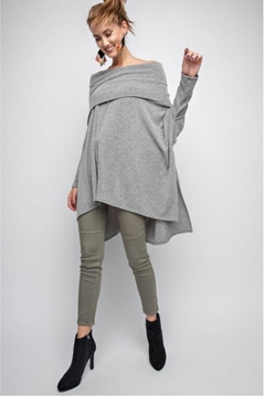 People Outfitter Asymmetrical Tunic Top - Product List Image