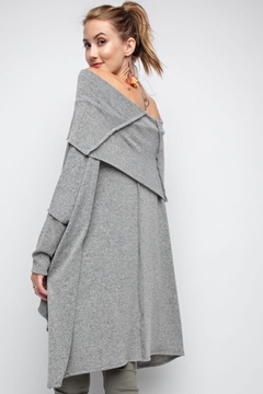 People Outfitter Asymmetrical Tunic Top - Alternate List Image